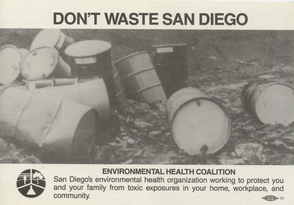 Clean Up of Illegal Toxic Waste Dump on Alpha & 38th in Southeastern San Diego