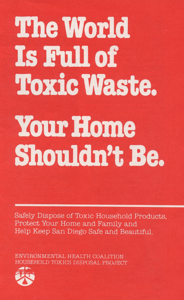 EHC launches Household Toxics Project