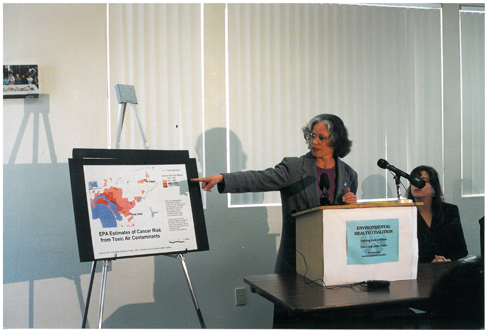 """Congratulations to Joy Williams on receiving the Haggen Smit Award """"The Nobel Prize"""" for Clean Air in EJ Communities"""