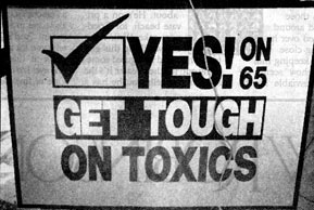 Prop. 65 Wins, Requires Warnings for Toxics